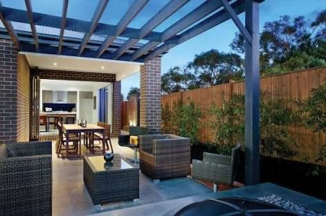 Image result for outdoor entertaining area