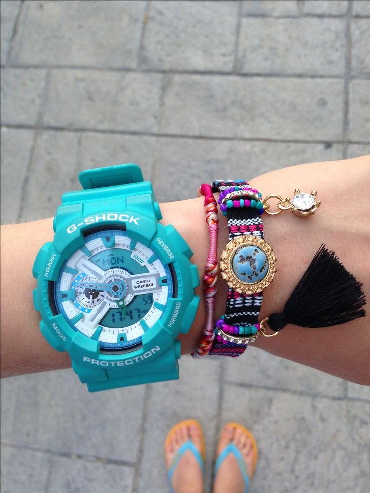 G-shock protection Casio