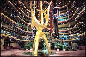 Carnival Inspiration - Grand Atrium -  March 2015