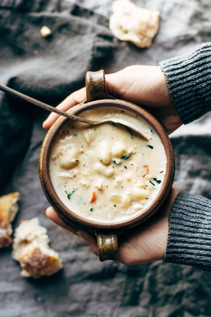 This Creamy Slow Cooker Chicken Soup Is Like a Warm Hug — Delicious Links