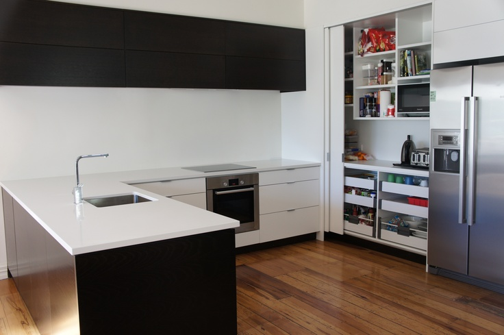Custom made apartment kitchens