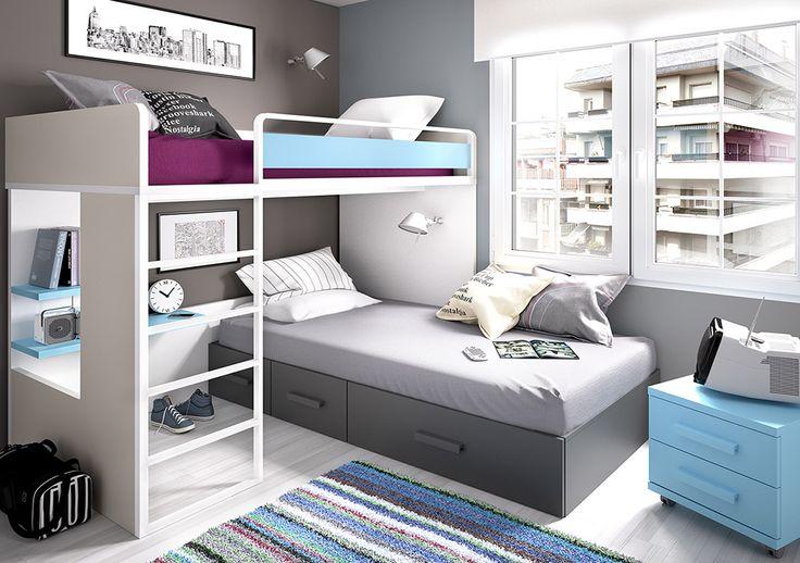 Decorar dormitorio infantil compartido |