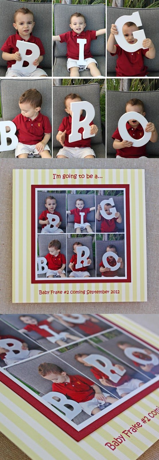 17 Best ideas about Second Child Announcement – Cute Ways to Announce Second Baby