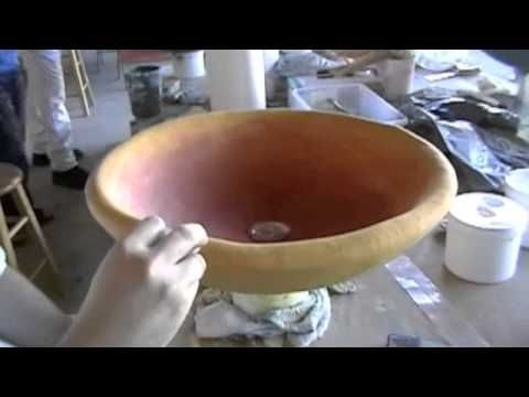 Tadelakt Moroccan Plaster Course - March 2011 - YouTube