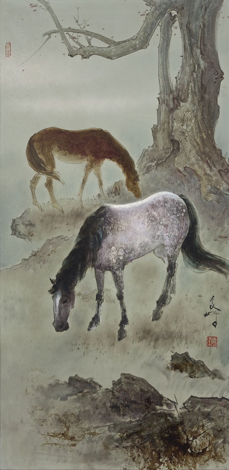 Lee Man Fong at  Sotheby's Auction