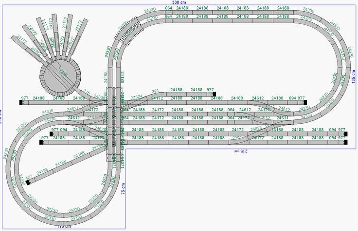 Best model railroad track planning software