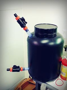 Assembled DIY Canister Filter looking good