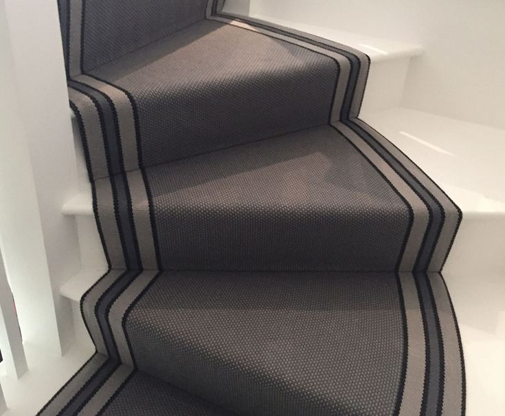 Fleetwood Fox stair runner - RH Carpets