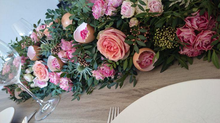 Classic table decoration created by Blooom Design by Maarten van Rossum