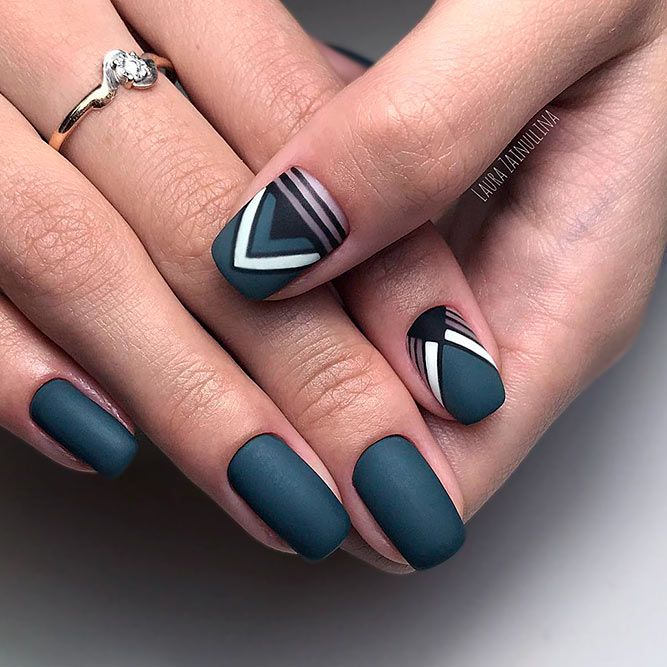 Grey nails are the ones that usually get underestimated. The thing is that grey is one of those neutral shades you tend to rarely pay attention to. hat is why we have decided to treat you with a nice and trendy portion of grey nail art to get inspired with.  #nails #nailart #naildesign #greynails