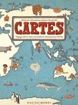 couverture de Cartes : voyage parmi mille curiosités et merveilles du monde