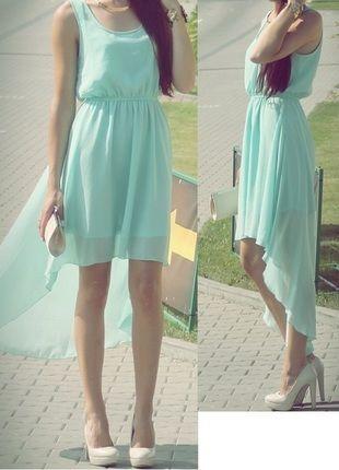 Kup mój przedmiot na #vintedpl http://www.vinted.pl/damska-odziez/dlugie-sukienki/10093853-sliczna-mietowa-sukienka-rozmiar-s