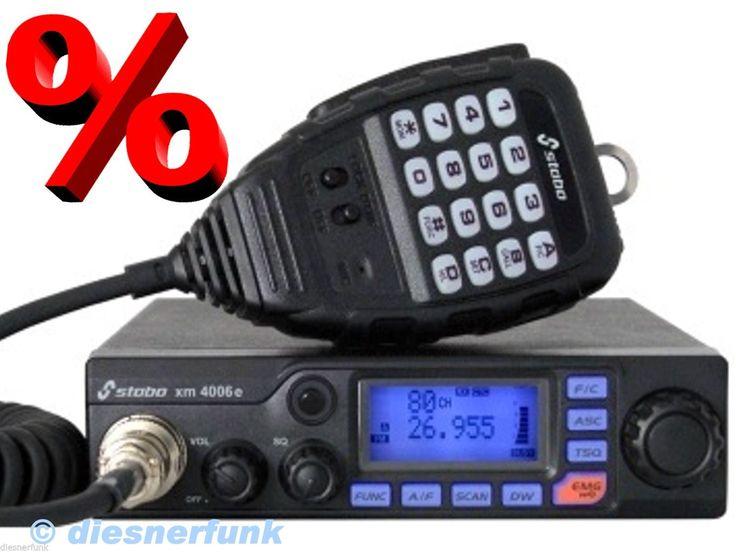 PROFI CB Funk STABO XM 4006E passend für  LKW Actros MAN TGA VOLVO SCANIA uvm. in Handys & Kommunikation, Funktechnik, CB-Funkgeräte   eBay