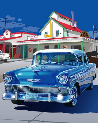 1956 Chevrolet: Sports Cars, 1956 Chevrolet, Classic Cars, Vintage Cars, Classic Chevy 1950S, 1956 Chevy, Old Cars, 1950S Cars, Dreams Cars