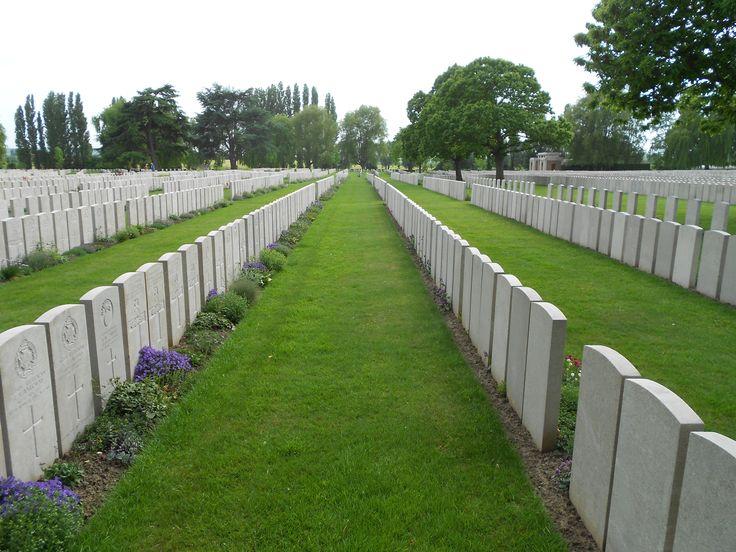 Lijssenthoek Military Cemetery 1914-1920.
