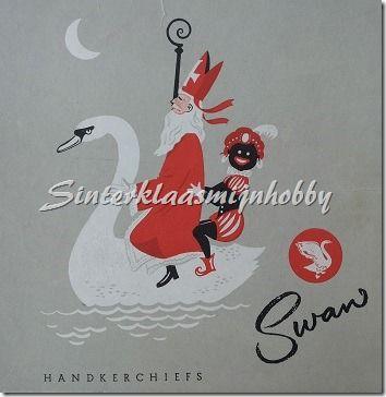 Swan zakdoeken doosje