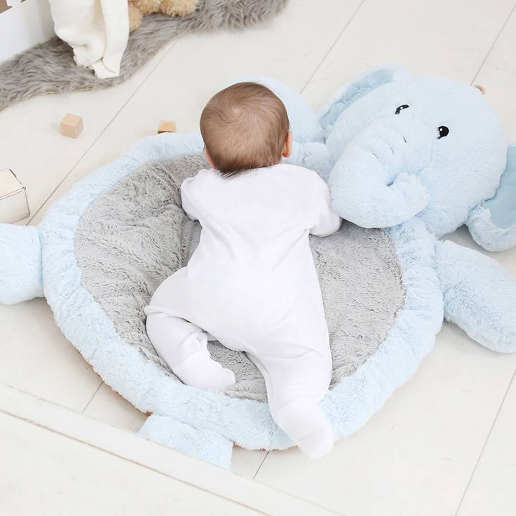 Add a touch of fluffy delight to your little one's nursery with our adorable elephant play mat.Please note this item cannot be personalised Care instructions can be found in labelsOur unisex elephant is a welcome addition to any little one's play time, made from deliciously soft fur for endless hours of fun. Featuring four squishy legs and a curled-around trunk, this will look perfect inside their bedroom or nursery, and soon become just as indispensible as their toys and picture...