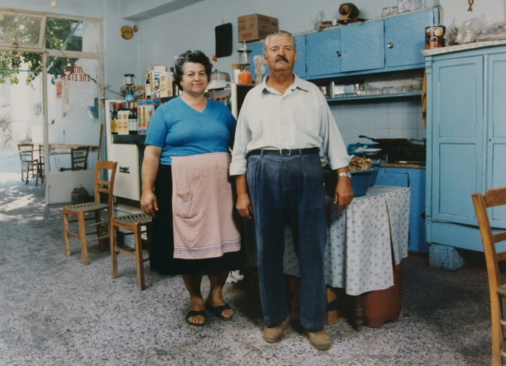 Charles Weber captured the faces of Greece - 1988 At the Benaki Museum until March 17, 2013