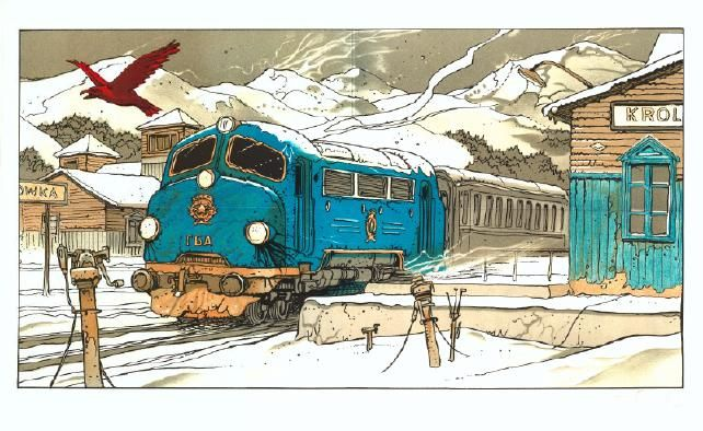 "From ""Partie de Chasse"" by Enki Bilal"