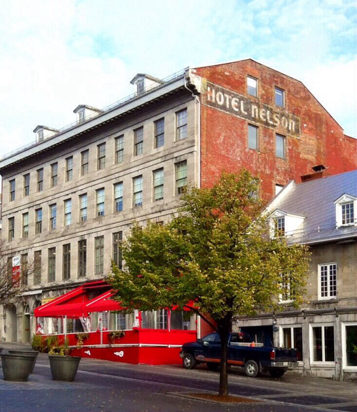 Hotel Nelson, Place Jacques Cartier