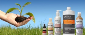 """How do you take the worlds' only oil-free, alcohol-free, and fragrance-free sunless tanning solution and make it better? Take Aviva Labs award-winning solution and now make it with the highest quality DHA on the market: ECOCERT Certified DHA AND with a unique color matching system we call, """"Perfect Color Balance""""."""