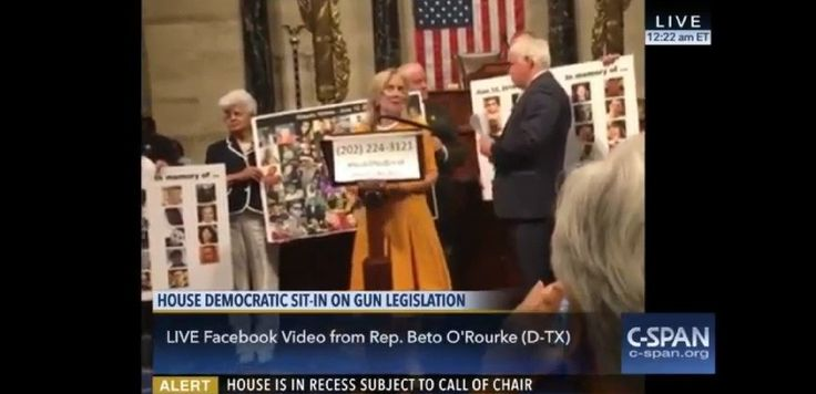 If you only watch one speech from the Democrats' sit-in, this is absolutely the one to see (video) - Debbie Dingell speaks at the Democratic sit-in in Congress