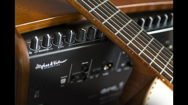 Here's a quick playthrough of all the different FX built in to the Hughes & Kettner era 1 acoustic amplifier.