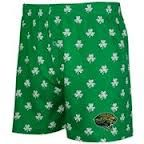 These are green because my boxer shorts are green.