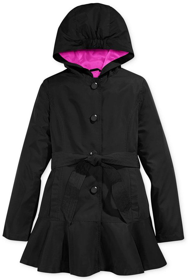 Pin for Later: 18 Adorable Kid Raincoats For Wet April Showers and Beyond S. Rothschild Long Raincoat This S. Rothschild Long Raincoat ($86) is a a chic option, bound to be a classic.
