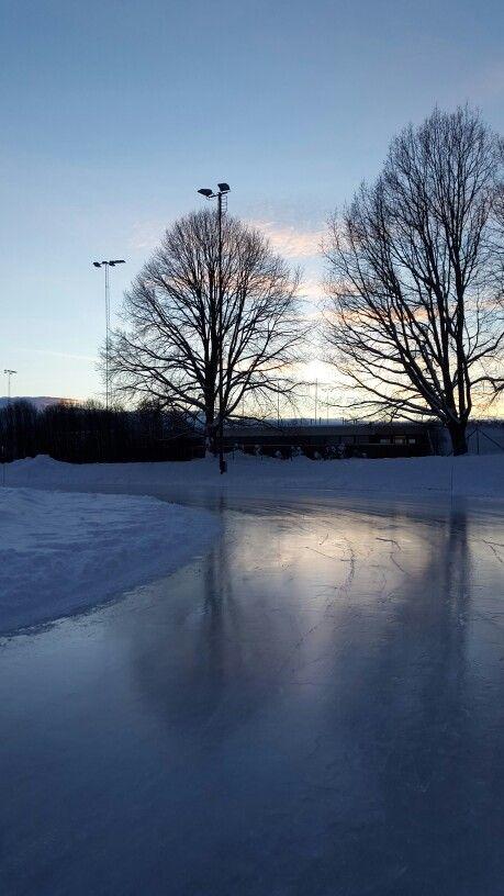 Iceskating in Norway ❄⛄