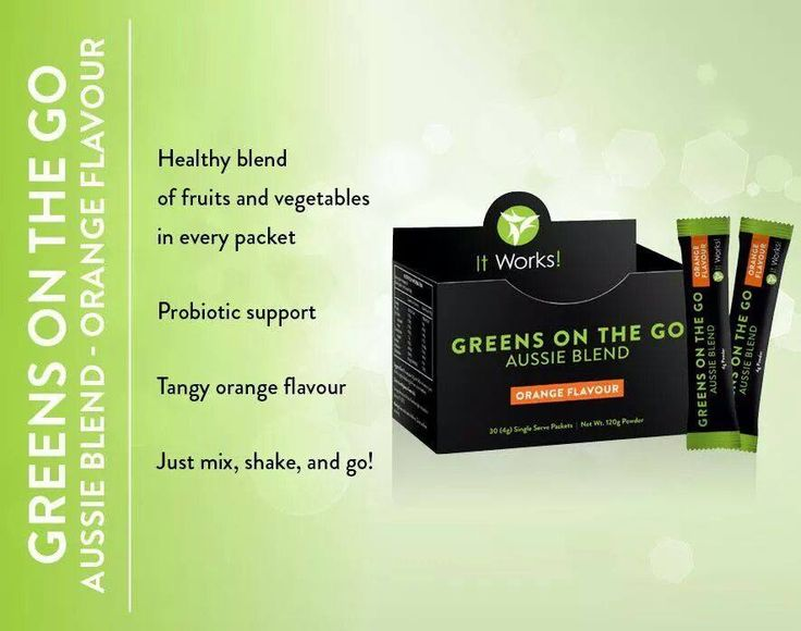 Greens On The Go Aussie Blend Orange Flavour- All the goodness of our Greens on the go in convenient single serve sachets