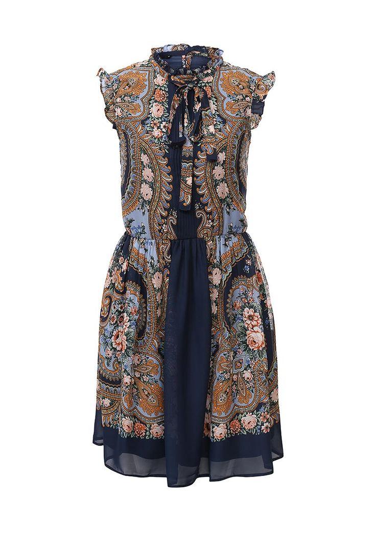 Платье oodji купить за 1 590руб OO001EWMIH34 в интернет-магазине Lamoda.ru