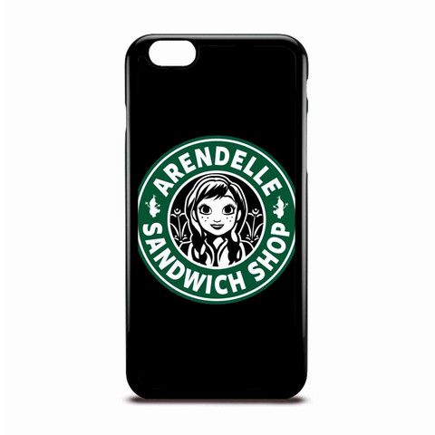 Arendelle Sandwich Shop Disney Coffee Logo Style Case Design For IPhone