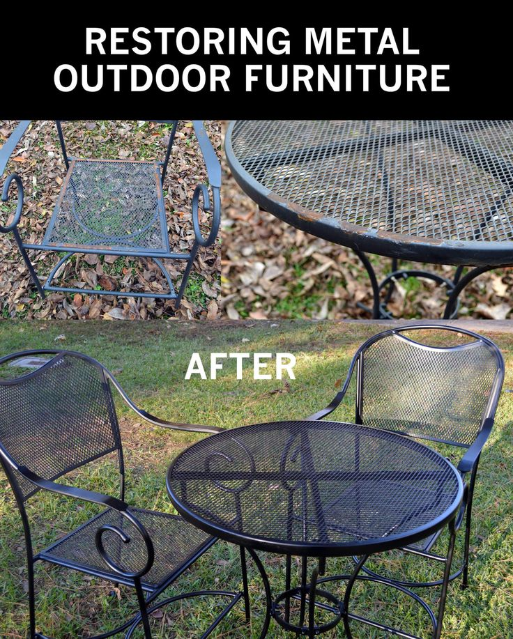 Amazing A Few Years Ago, I Bought A Really Cute Patio Furniture Set Which Was  Composed Part 18