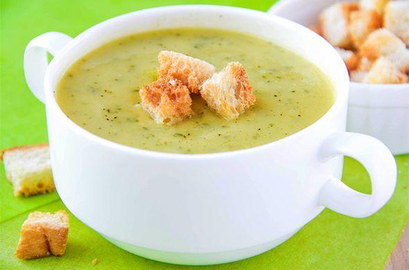 Petite soupe de courgette et poireau