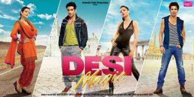 Desi Magic first look poster out starring Ameesha Patel, Zayed Khan and Sahil Shroff.