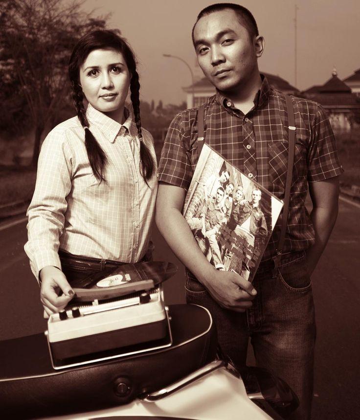 Pre Wedding Photographer by : Sebastinus Advent  Tema : Modern Oldschool