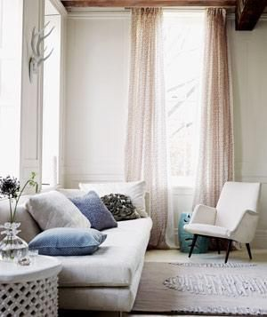 16 Decorator Tricks for Small Living Rooms and More | Living in an apartment, or in an older home with tiny rooms, can present a challenge: how to make your limited space seem larger. Try these easy home-decorating ideas.