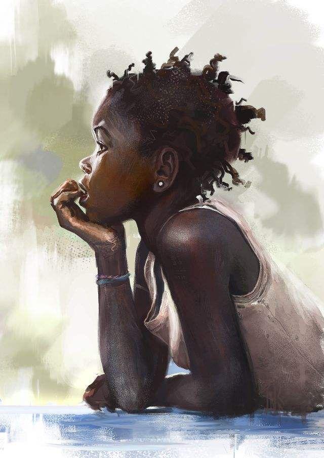 http://www.shorthaircutsforblackwomen.com/natural-hair-style_pictures/ Natural black hair art