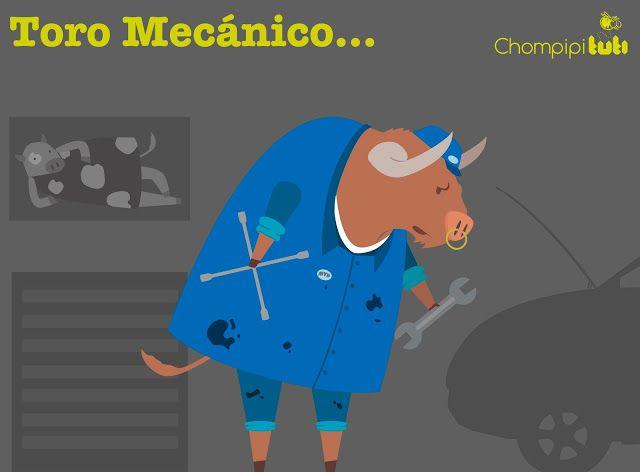 Toro mecánico- Happy drawings :)