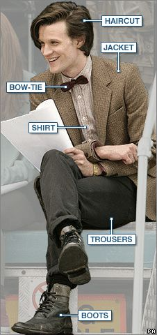 BBC NEWS | UK | Magazine | The fashion police on Doctor Who's new outfit