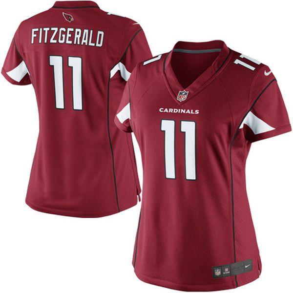 Larry Fitzgerald Arizona Cardinals Nike Women's Limited Jersey - Cardinal - $149.99