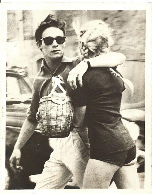 Brigitte & Jacques Charrier, 1959 | {t w o} | Brigitte ...