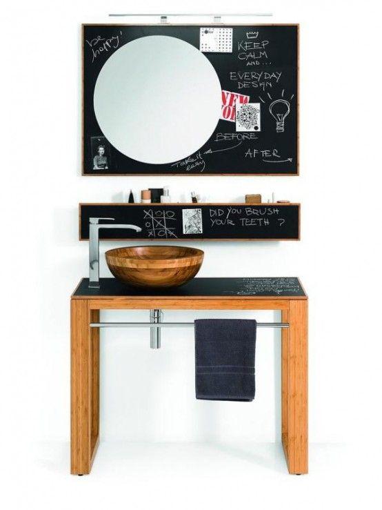 Необычная мебель для ванной фото