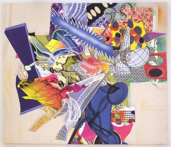 The Duel by Frank Stella