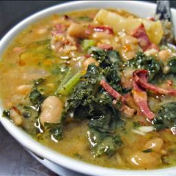 Caldo Gallego (Spanish White Bean Soup) on BigOven: This is a white bean soup created in Spain but slightly altered by different latin cultures. This is my absolute favorite combination.