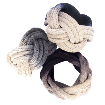 knotted rope bracelet by tanya aguiniga. $85