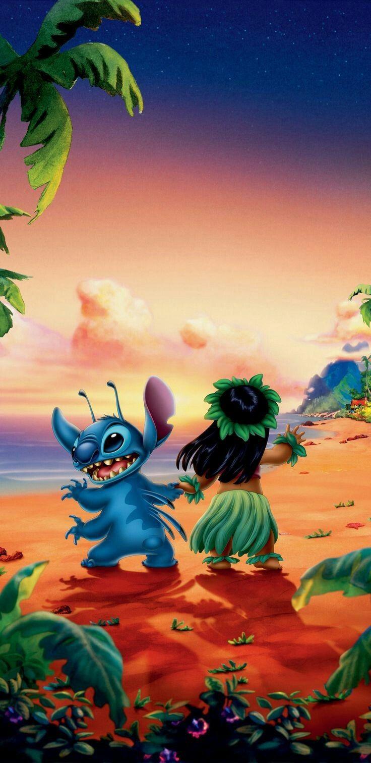 Lilo And Stitch Wallpaper Tumblr Art In 2019 Disney