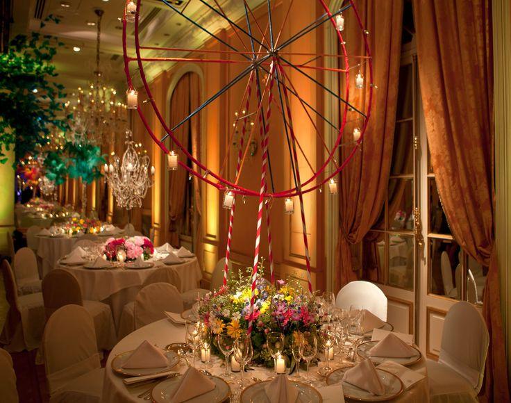 Decoraci n de mesas con flores naturales fotografia - Ideas decoracion salon ...