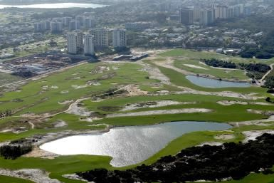 Find Out the When, Where and How of the 2016 Olympic Golf Tournament: The Olympic golf course as it neared completion in mid-2015.